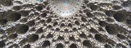 ساخت بنای مسجد زیبای گوهرشاد مشهد