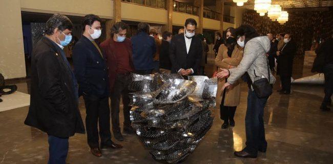 هشتمین دوسالانه ملی مجسمه سازی تهران آغاز به کار کرد