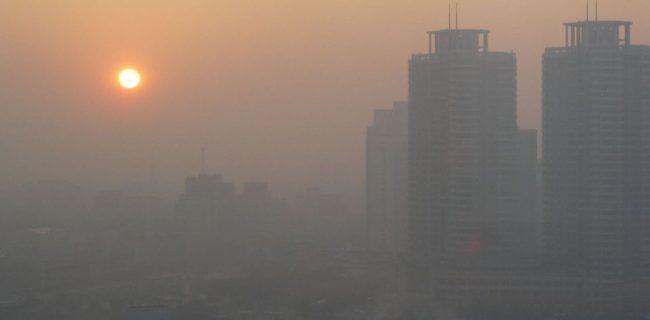 هوای تهران در وضعیت قرمز